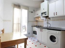 Apartamento amueblado de 1 dormitorio. C/Don Sancho
